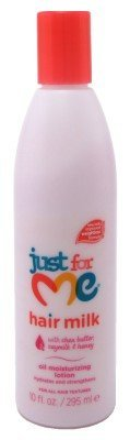 Just For Me Hair Milk Childrens Oil Moisturizing Lotion, 10 Ounce