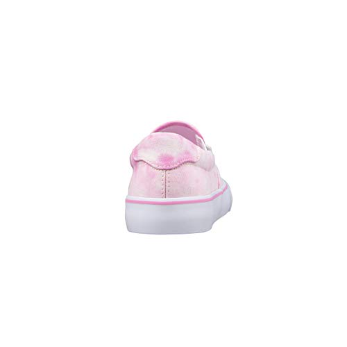 Lugz Women's Clipper Classic Slip-on Fashion Sneaker, Pink Multi/White, 5.5