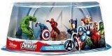 Disney Marvel AVENGERS Assemble Exclusive 5-Piece PVC Figurine Playset [Hulk, Captain America, Iron Man, Thor & Hawkeye]