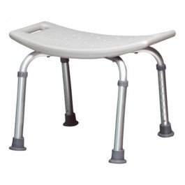 Lumex Platinum Collection Bath Seat Retail Packaging-With Backrest - Chocolate - Case of 3