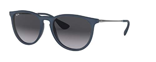 Ray Ban RB4171 60028G 54M Rubber Blue/Grey Gradient+FREE Complimentary Eyewear Care - Lenses Frame Grey Havana Brown