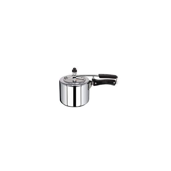 Kitchen Mate Aluminium Plain Pressure Cooker (1 Litre)