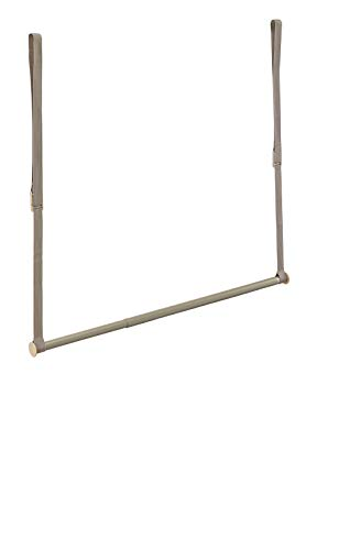 Hanging Rod Clothes (ClosetMaid 31220 Double Hang Closet Rod, Nickel)