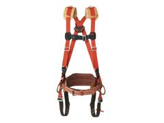 (Klein Tools LH5282-23-L Large Harness with Standard Full-Floating Body Belt, D-to-D, Size 23 )