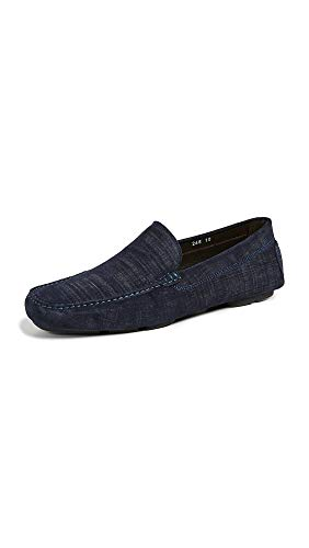 To Boot New York Men's Lewis Suede Drivers, Blue, 11 M US ()