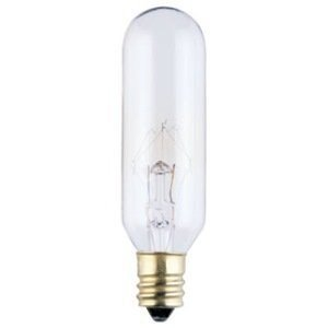 120v Carded - Westinghouse Specialty Light Bulbs 25 W 190 Lumens T6 E12 Candelabra Clear Carded