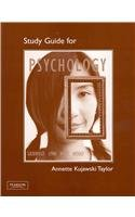Study Guide for Psychology: Inquiry to Understanding