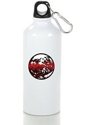 RPG Earthbound Giygas Cool Aluminum Sports Water Bottle - 400/500/600ML (Nhl Rocks Glass Square)