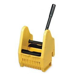 Janico 1013 Down Press Wringer for Janico 35 Qt Mop Bucket, Yellow ()