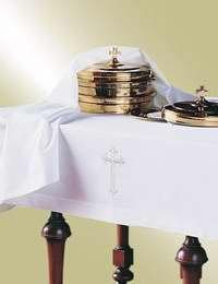 Murphy Robes 94115 Communion - Table Cloth & Element Cover Set - Latin Cross by Murphy Robes