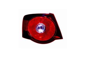 Depo 341-1923L-US2 Volkswagen Jetta Driver Side Tail Lamp Assembly with Bulb and Socket