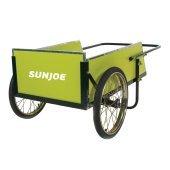 Sun Joe SJGC7 7 Cubic Foot Heavy Duty Garden + Utility Cart by Sun Joe