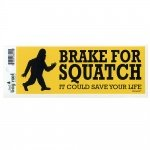 Brake for Sasquatch Bumper Sticker