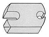 Baldwin 4210 3/4 Inch Aluminum Riser for Dome Bumpers, Venetian ()