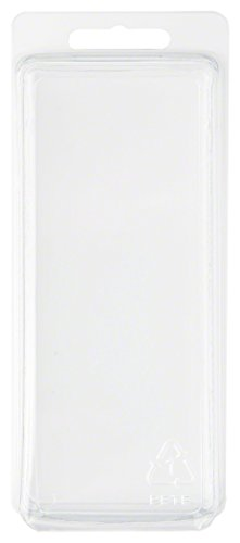 Collecting Warehouse Clear Plastic Clamshell Package/Storage Container, 5.19'' H x 2.19'' W x 2.38'' D, Pack of 10 by Collecting Warehouse