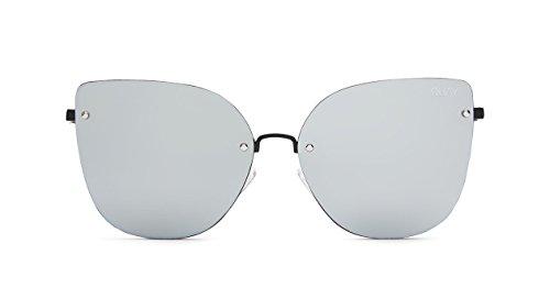 Quay Australia LEXI Women's Sunglasses Cat Eye Mirrored Lenses - Cat Fabulous Sunglasses