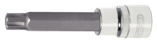 KS Tools 918.1785 - Toma de CHROME + RIBE poco, 1/2', 110 mm, M10 1/2 4042146360002