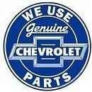 CIRCLE SIGNS Genuine Chevrolet Parts Sign