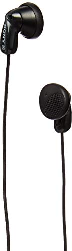 Sony MDR E9LP/BLK Earbud Headphones, Black  Discontinued by Manufacturer