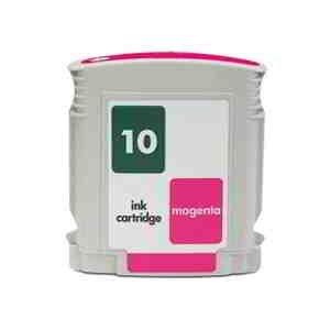 10 C4843a Magenta Ink Cartridge (Remanufactured HP 10 (C4843A) Magenta Inkjet Cartridge with New Chip)