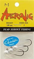Aerojig Jig Heads with Gamakatsu Hooks 1/8 oz. - Pearl -