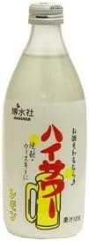 【まとめ買い価格】 博水社 ハイサワー レモン 瓶 360ML 6本