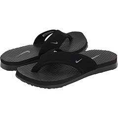 Nike Celso Flip Flop Sandal (2 Little Kid M, Black/Flint Grey)