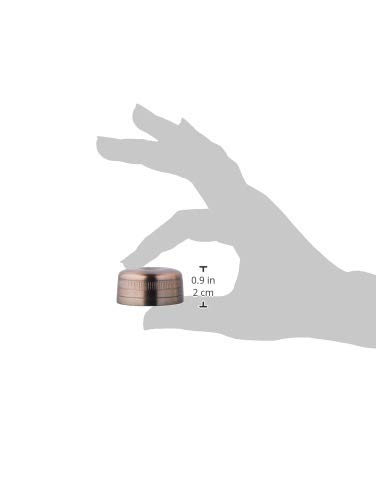 Barfly Cocktail Shaker, Replacement Cap For M37039ACP, Antique Copper