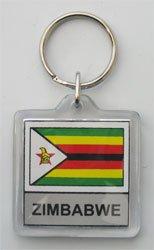 Country Lucite Key Ring Zimbabwe