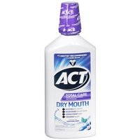 ACT Total Care Dry Mouth Rinse, Soothing Mint, 33.8 fl oz - 2pc
