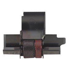 SHARP EL-1801V Ink Rollers - 3 Pack - Black Red ()