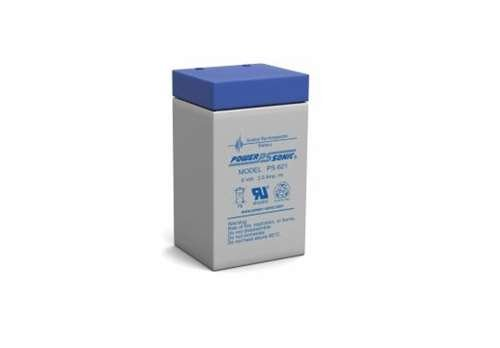 Power-Sonic PS-621 | SLA Battery 6v 2.0Ah