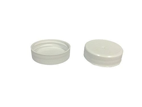 White Plastic Replacement Caps (38-400) for Gallon or Half Gallon Jugs, LOT OF 84 pcs, 38mm