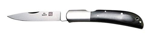 Al Mar 1005BM Eagle Folding Knife, Black Micarta Handle, ()