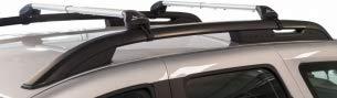 """Green Valley Freeline Barre da tetto in lega dalluminio 6060T6 complete di piedi premontate pronte all/'utilizzo su autovetture con barre longitudinali di tipo /""""standard/"""" Railing aperti"""