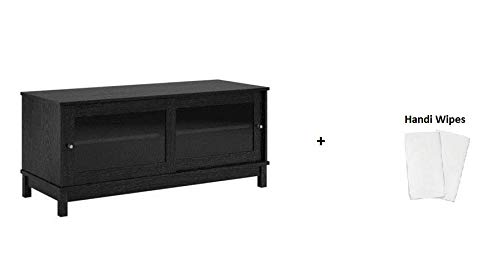 Ash Entertainment Center - Mainstay.. TV Stand for TVs up to, (Black Ebony Ash + Handi Wipes, 55