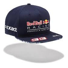 Gorra con visera plana Red Bull Puma F1 Max Verstappen 2017 ...