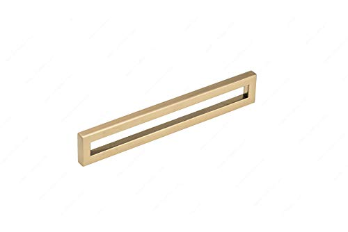 Contemporary Metal Pull BP31245160CHBRZ - 3124, Finish Champagne Bronze