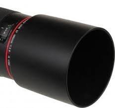 JJC LH-T73B Lens Hood Shade For Canon EF 70-300mm F4-5.6 L IS USM Lens Replaces Canon ET-73B Black
