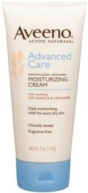 Aveeno Advanced Care Moisturizing Cream, 6-Ounce