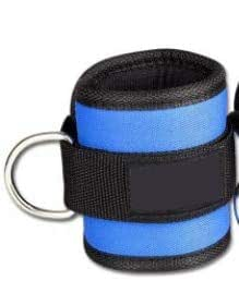 1 PCS Black Blue Red Fitness Ankle Practical Exercise Ankle Cuffs Padded Ankle Strap for Legs Abs and Gluteus Exercises:1pcs, Russian Federation