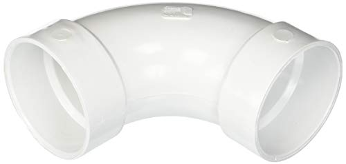 Drain Sweep - Genova Products 73840 90° Long Sweep Elbow Pipe Fitting, 4