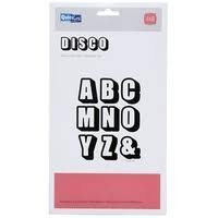 (QUICKUTZ We R Memory Keepers Mini Alphabet Die Set, Disco, 4-Inch by 8-Inch)