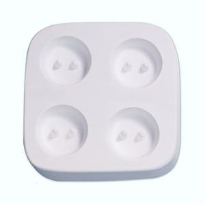 Small Round Buttons Casting Mold - Kiln Casting Mold