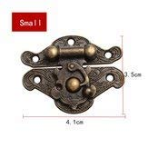 Hasp Pad Chest Lock Piece Wooden Jewelry Vintage Butterfly Combination Padlock Toolbox Storage
