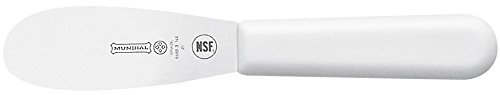 - Mundial W5688E-3 1/2 Serrated Edge Sandwich Spreader, White