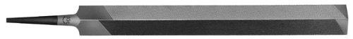 PFERD Hand File, American Pattern, Single Cut, Triangular, Medium, 8'' Length, 7/8'' Width, 1/2'' Thickness