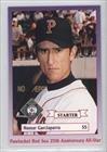 Nomar Garciaparra (Baseball Card) 1997 Pawtucket Red Sox (Pawsox) 25th Anniversary Team (Nomar Garciaparra Red Sox)