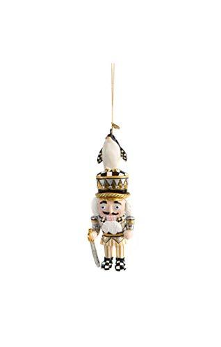 MacKenzie-Childs Penguin King Nutcracker Ornament