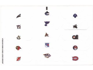 Nhl Sticker Sheet - 5